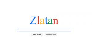 dans l'actualité il y a le site web de recherche Zlatan