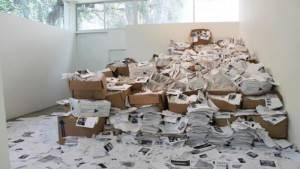 une étude a fait l'actu web en dévoilant le nombre de feuilles nécessaires pour imprimer le web