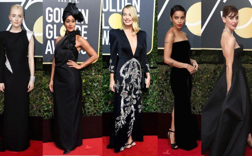 Les Golden Globes s'habillent en noir.